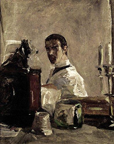 Kunstdruck/Poster: Henri de Toulouse-Lautrec Self Portrait 1880