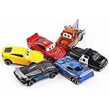 مجموعة العاب السيارات الفاخرة الحصرية من 6 قطع - مجموعة العاب الضغط للاطفال