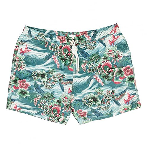 hartford-hawaiian-print-swim-short-multi-xlarge-multi