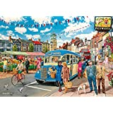 The Country Bus 4 x 500pcs Jigsaw