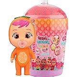 Bebés Llorones Lágrimas Mágicas Casita Tutti Frutti Mini muñeca sorpresa coleccionable con olor a fruta, juguete niña y niño