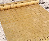 Tapete Fototapete Wallpaper Gold selbst klebende Wand Papier gepolsterten Wohnzimmer Schlafzimmer selbst haftende Tapeten , 3d gold mosaic