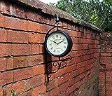 Kingfisher - Viktorianische Doppel Sichtige Bahnhofs Uhr