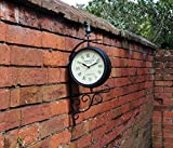 Kingfisher victorien station Style Horloge de jardin