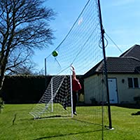 AS SEEN on DRAGONS DEN! - Open Goaaal! Football Goal & Rebounder - Stops shots going over AND rebounds them back! – Standard Size