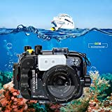Sea frogs pour Sony A6500 A6300 A6000 195 Pieds / 60m caméra sous-Marine Boîtier étanche boîtier Peut être utilisé avec 16-50mm lentille