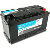 ECTIVE 100Ah 12V Gel Batterie EDC-Serie Versorgungsbatterie in 6 Varianten: 70-250Ah (wartungsfrei)