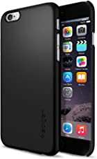 Spigen Thin Fit Case for iPhone 6 / 6S - Smooth Black SGP10936