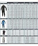 O'Neill Wetsuits Herren Neoprenanzug Reactor 3/2 mm Full Wetsuit, Black, M, 3798-A05 - 3