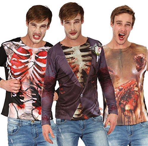 Fancy Me Herren Langarmshirt One size Smart Zombie