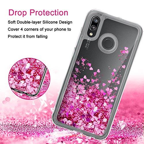 Wanxideng Cover Huawei P20 Lite Custodia Trasparente Morbido in ...