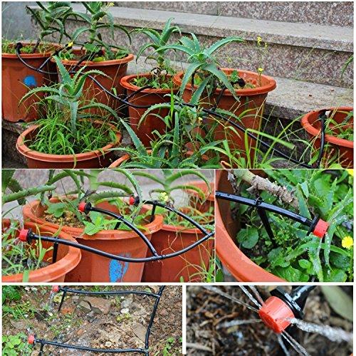 Suntop Micro Drip Bewasserung Kit 15m Garten Gewachshaus Bewasserung