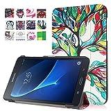 WiTa-Store Hülle für Samsung Galaxy Tab A SM-T280 7.0 Zoll Schutzhülle Etui Tablet Tasche Smart Cover T285