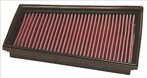 Lavabile e Riutilizzabile K/&N 33-2298 Filtri Aria Sostitutivi Auto
