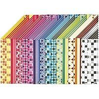 Color Bar - Carta assortimento, 21x30 cm A4, modellato, 16 specie. foglio