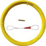 Tige de conduit en fibre de verre 4.5 MM ruban de poisson en fibre de verre Rodder de câblage extracteur de bobine de conduit