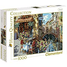 Clementoni - Puzzle de 1000 piezas, High Quality, diseño Ristorante Tartufo (391646)
