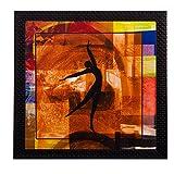 eCraftIndia Dancing Lady Satin Matt Text...