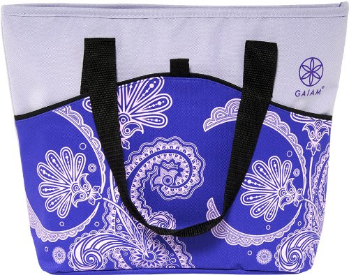 gaiam-picnic-tote-purple-paisley-30905-by-allsop