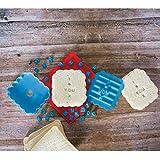 ASAB Kunststoff Sandwich Brot Stempel Drücken Toast Schablone Persönliche Nachricht Impressum Cutter Mould Küche Tool Kit blau