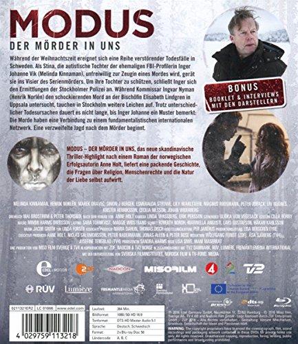 Modus - Der Mörder in uns -  Staffel 1 [Blu-ray]: Alle Infos bei Amazon