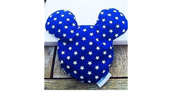 superbe cadeau de naissance bapt/ême Coussin noyau de cerise Mickey en diff/érentes couleurs