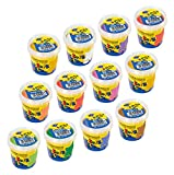 Feuchtmann Spielwaren 6281501 - Kinder Soft Knete Basic - Komplett Pack, 12 Dosen je 150 Gramm, 10 Farben
