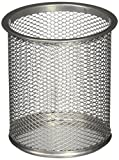 AndAlso SILVER Single Round Mesh Metal N...
