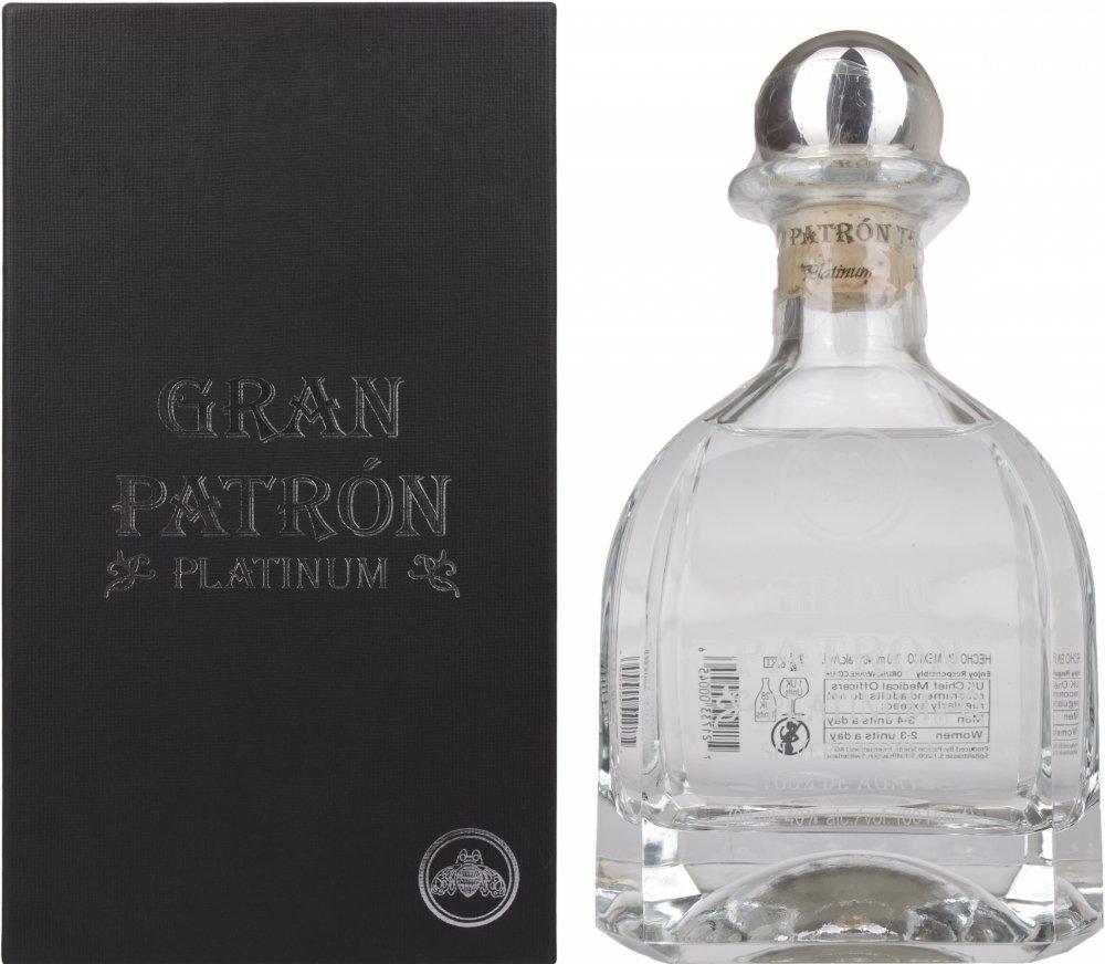 TEQUILA PATRON GRAN PLATINUM SILVER