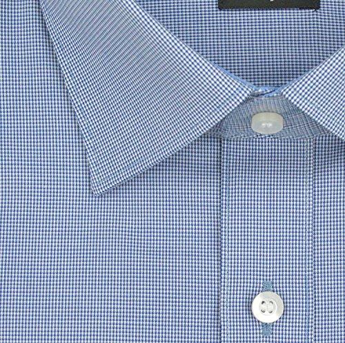 Chemise pour homme fit''level five body à manches longues bleu foncé