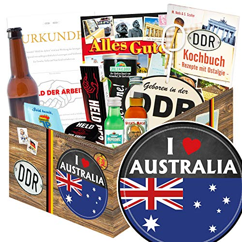 I love Australia | Australien Geschenk | Geschenke Männer DDR