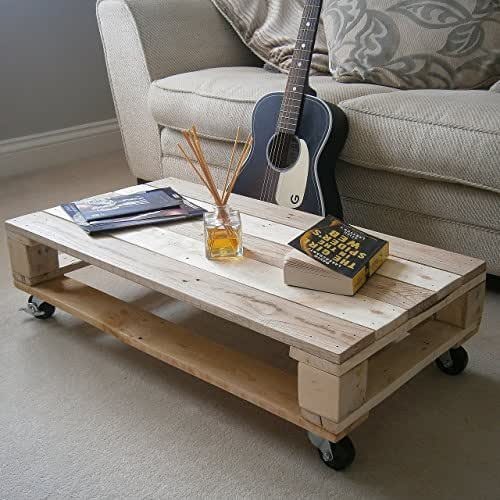 Industrial Style Pallet Coffee Tables Handmade