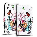 Verco Handyhülle Xperia M5 Muster, Motiv Hülle Sony Xperia M5 Book Case Flip Cover - Design 8