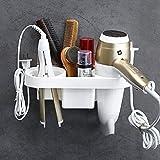 Fönhalter ohne Bohren Badezimmer regal multifunktionale Wandhalterung Haartrockner Rack Für Zahnpasta, Zahnbürstenhalter, Kamm, Kosmetika