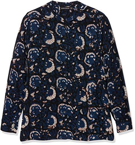 Antik Batik Valy, Camicia Donna, Blu (Blue), 42 (Taglia Produttore: 42/L)