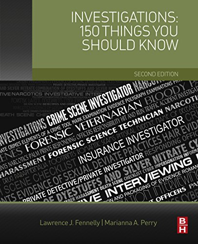 Investigations: 150 Things You Should Know (English Edition)