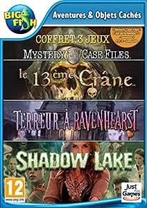 Mystery Case Files 7 + Mystery Case Files 8 + Mystery Case Files 9