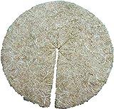 Mulchscheiben aus 100% Hanf, 10er Pack, Durchmesser: 30 cm, 5 mm dick (EUR 1,69 je Stück), Pflanzenschutzmatte, Unkrautschutzmatte, Winterschutzmatte, 100 % biologisch abbaubar, aus nachwachsendem, umweltfreundlichen, heimischen Rohstoff, geeignet für Beete und Blumentöpfe