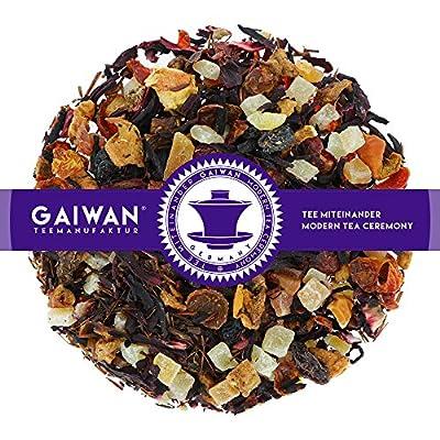"""N° 1278: Té de frutas """"Punch d'hiver"""" - feuilles de thé - GAIWAN® GERMANY - morceaux d'ananas, papaye, pommes, hibiscus, gratte-culs, raisins, rooibos"""