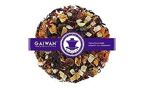 """Núm. 1278: Té de frutas """"Ponche de invierno"""" - hojas sueltas - 250 g - GAIWAN® GERMANY - piña y papaya, manzana, hibisco, rosa mosqueta, pasas, rooibos"""