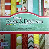 "Craftdev Set Of 40 7""X7"" Inch Beautiful Pattern Design Printed Papers For Art N Crafts"