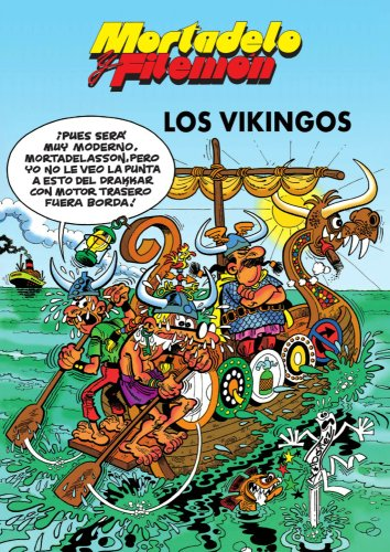 Mortadelo y Filemón. Los vikingos por Francisco Ibáñez