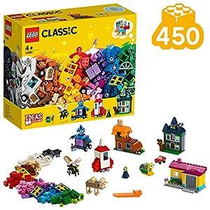LEGO Classic - Ventanas Creativas Nuevo juguete de construcción creativo de Ladrillos Clásicos de Colores (11004)