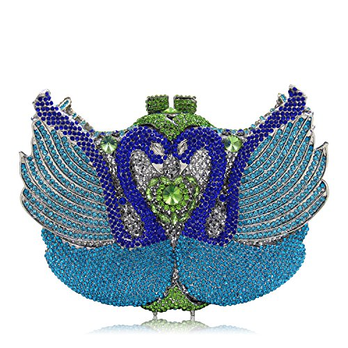 Luxus Diamond Abendtasche Handtasche Damen bevorzugten Hochzeit Kupplung Geldbeutel E
