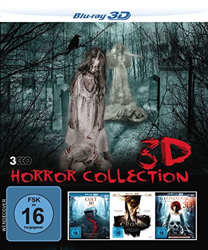 3D Horror Collection (3 Horrorfilme in einer Box) [Blu-ray]
