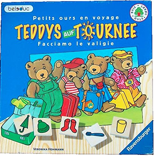 Ravensburger - Teddys auf Tournee, Gedchtnisspiel