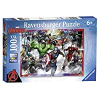 Ravensburger 10771 Marvel Avengers Assemble XXL Jigsaw Puzzle - 100 Pieces