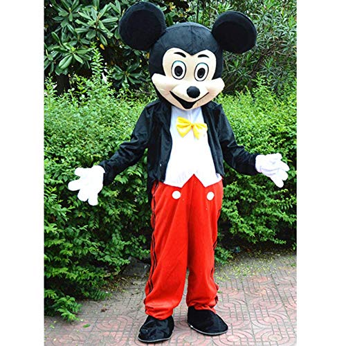 Unbekannt Mickey Minnie Maskottchen Cartoon Puppe Kostüm Walking Puppe Performance Kostüm Maskottchen Activity Show Werbung Männlich Weiblich (Puppe Kostüm Männlich)