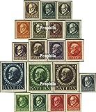 Prophila Collection Bayern 94II B 1916 König Ludwig III (Briefmarken für Sammler)