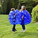 NEUE Kinder aufblasbare Buddy Stoßstange Ball Bounce Sumo Anzüge 2pk